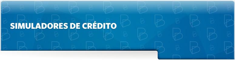 Banner Simuladores de Crédito